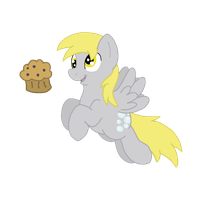 Fly With A Muffin by TheDoggyGal