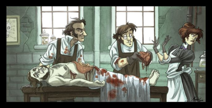 In the Morgue by kyla79