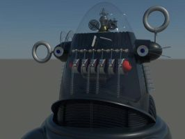 Robby the Robot 3 by RoyStanton