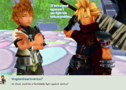 Question #91 Cloud: Fighting Ventus? by AsktheKHcrew