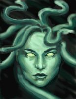Medusa - Clash of the Titans by nienor