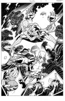 Spiderman/Deadpool #1 pg 9 by MarkMorales