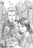 FF-12: Larsa and Gabranth by Autumn-Sacura