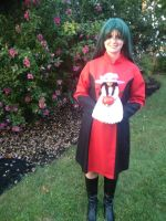 Sabrina cosplay- complete (body shot and smiling) by JapaneseGamerAngel