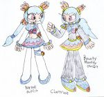 Chartruse's Outfits by SurgeCraft