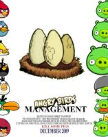 Angry Birds Management by MidNightMagnificent