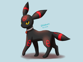 Request: Omen the Umbreon by Bluekiss131