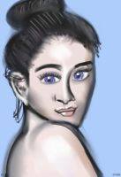 Woman face study n41 by lv888