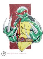 Raphael Illustration by justinprime