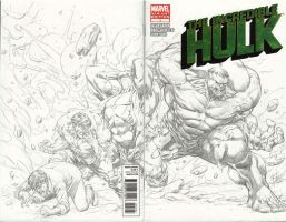 incredible hulk blank cover by godmercys