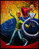 Hitler in a Three Ring Circus by Jeff1966