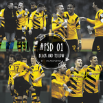 #PSD 01 black and yellow by PalmSuperman