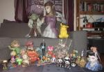 my papercraft collection again by minidelirium
