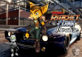 Burnout Ratchet+Clank Paradise by Flamy-Star
