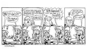 Fire and Brimstone Week 3 Strip #3 by thetoon43