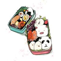 Bento Box by burntfeather