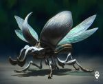 AT OL : White beetle by ATArts