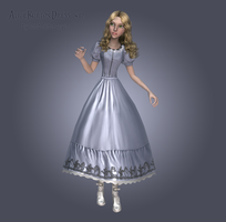 AliceBurtonDress, wip2 by tombraider4ever