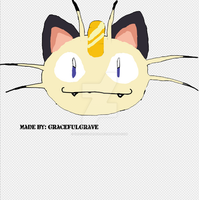 Meowth from Pokemon (Request) by GracefulGrave