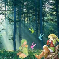 Forest Song by iverie