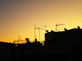 Athens_rooftops by dmavromatis