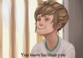 Life is Strange: You know he likes you ! by AgentKnopf