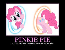 Pinkie Pie Demotivational Poster by Dante-Hinomori