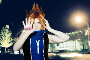 Neku Photomanip by invader-gir