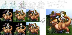 Step by Step Duncan's Dino Park by Mephilez
