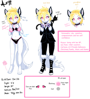 Ash Anthro ref by VengefulSpirits
