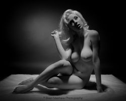 Cherie Artistic Nude - Hair by BrianMPhotography