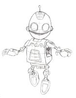 A Crack in Time Clank Sketch by sonicwindartist