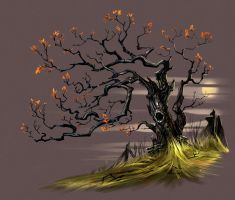 The Old Apple Tree by sprogis7