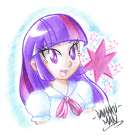 Magical Twilight Sparkle by DANMAKUMAN