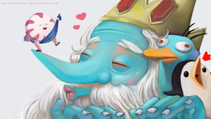 ice king loves peppermint by mikurei26