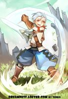 DragonNest_The warrior by Tenko401