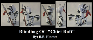 Blindbag OC Chief Rafi by Gryphyn-Bloodheart