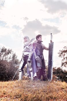 Griffith and Gatsu Cosplay Berserk - Calm by hakucosplay