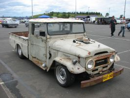 RAT ROD LANDCRUISER by INSPIRED-IMAGES