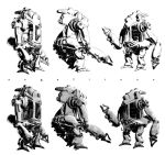 3D ROBOT Comic book style by angelitoon