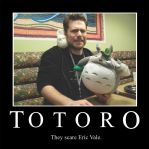Demotivational: Totoro by FroudTheXenophile