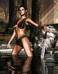 Elven Lady Of The Lake by Afina79