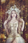Gold dust by absentia-veil