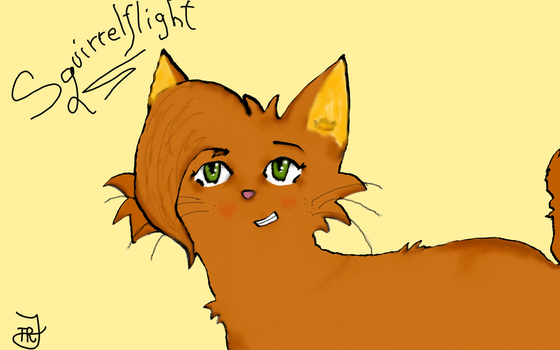 Squirrelflight by The-Real-Jayfeather1