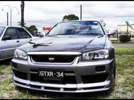 Nissan R-34 Skyline 1 of 2 by musicnation