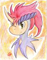 Keldeo Portrait by goldflygon