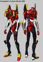 Evangelion Unit 003 - The Custom Model - by RoboMonkey03