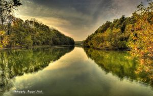 Hungarian landscapes.Danube-River. HDR. 2. by magyarilaszlo