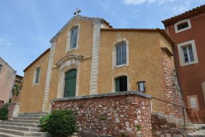 Chapell of Roussillon Village by A1Z2E3R