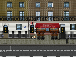 221B Baker Street (Exterior) by Ami by SherlockTheGame